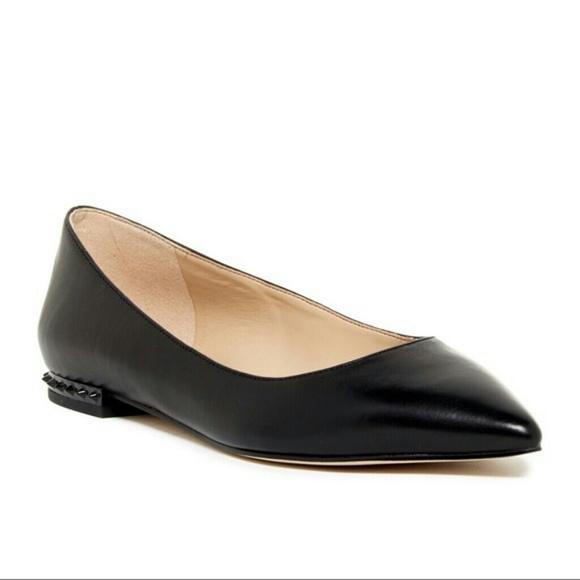 5f5828298 Sam Edelman Reyanne Spike Pointy Toe Flats. M_5bb6ca983e0caa649b04244e